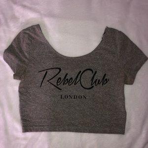 Rebel Club Crop Top